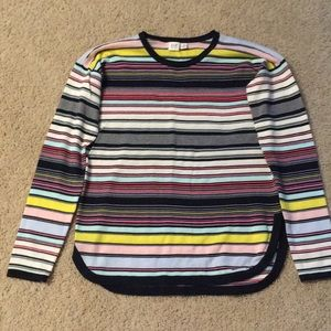 Gap Girls Striped Colorful Sweater
